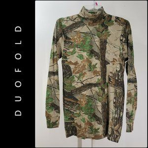 Duofold Men Camouflage Thermal Wear Sweater Size L
